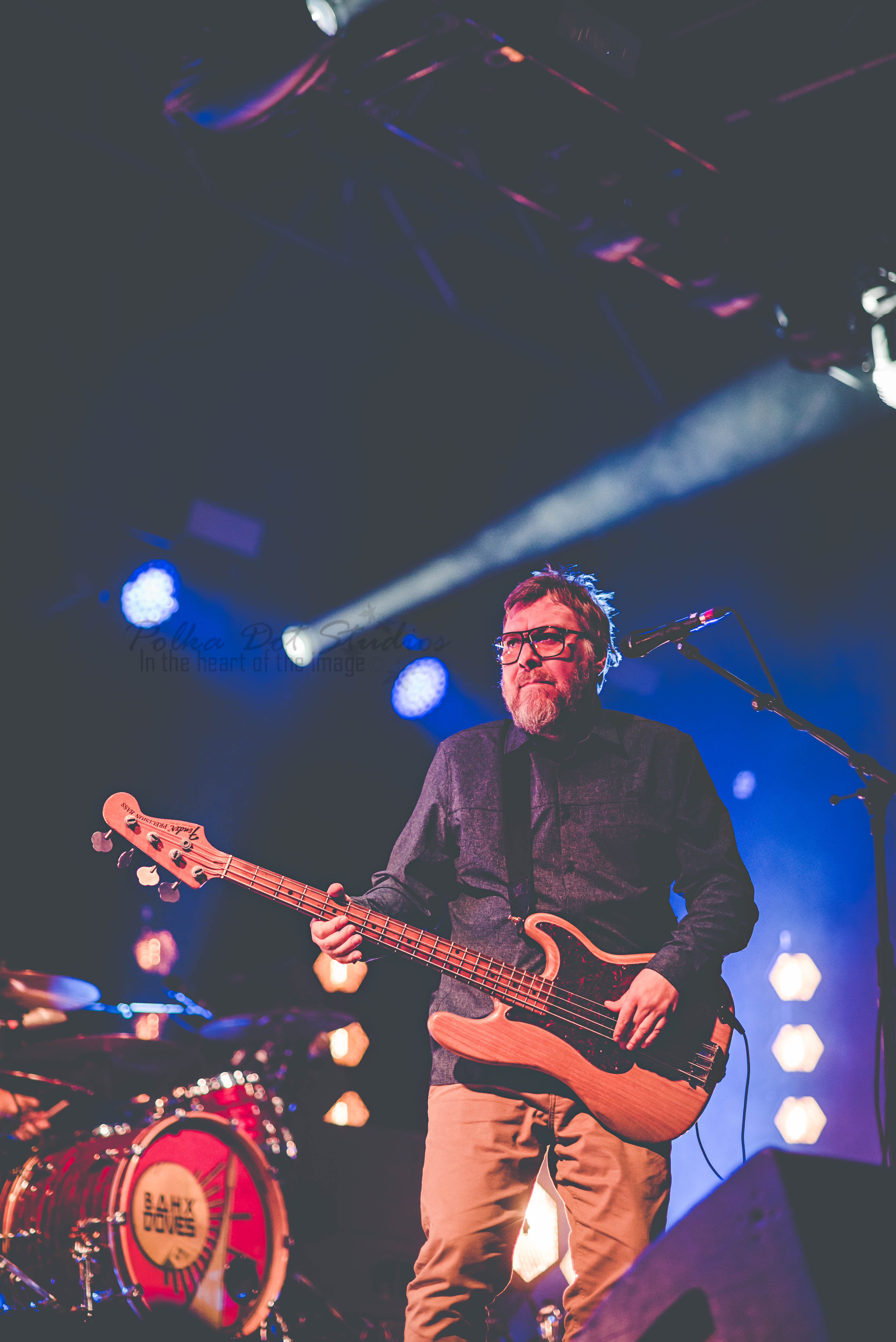 Jez Williams from Doves live at Bingley Weekender 2019